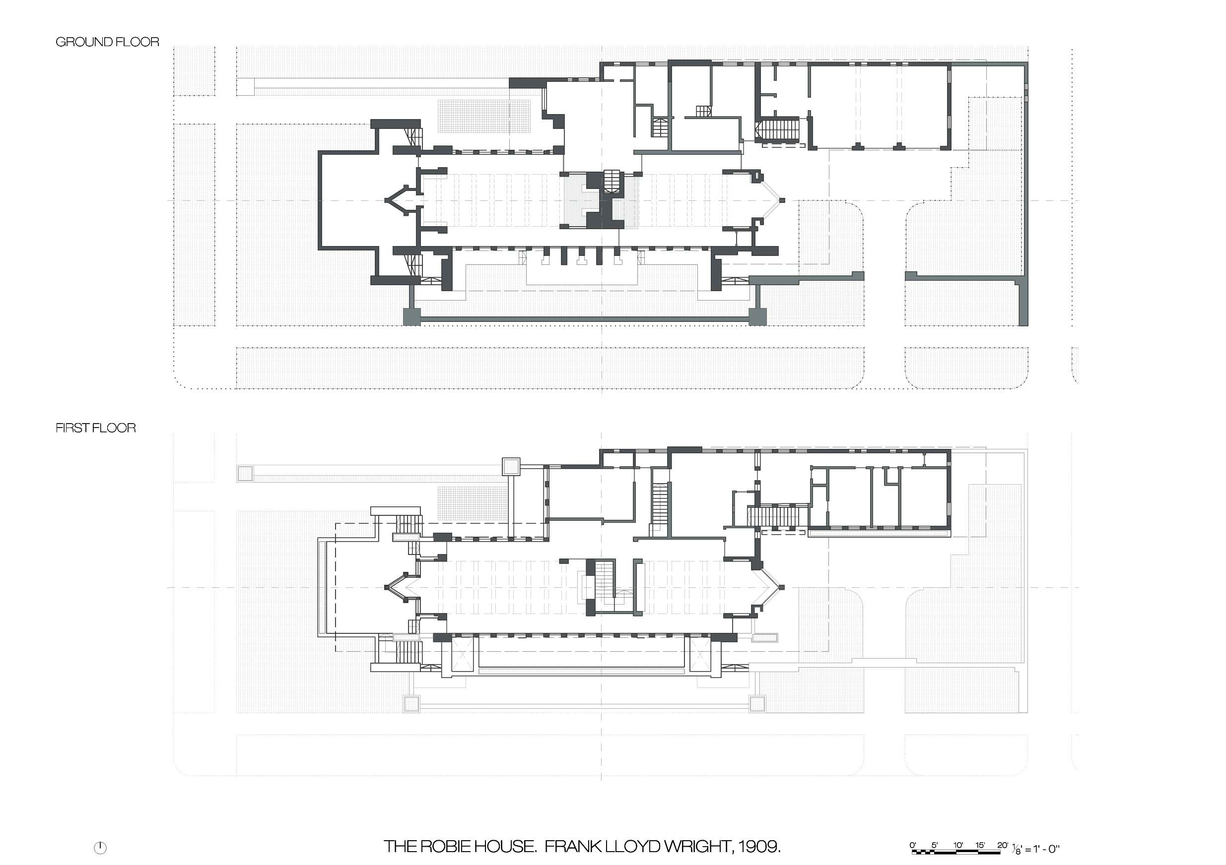 Robie house chicago plan googleda ara organic architecture pinterest organic architecture and architecture