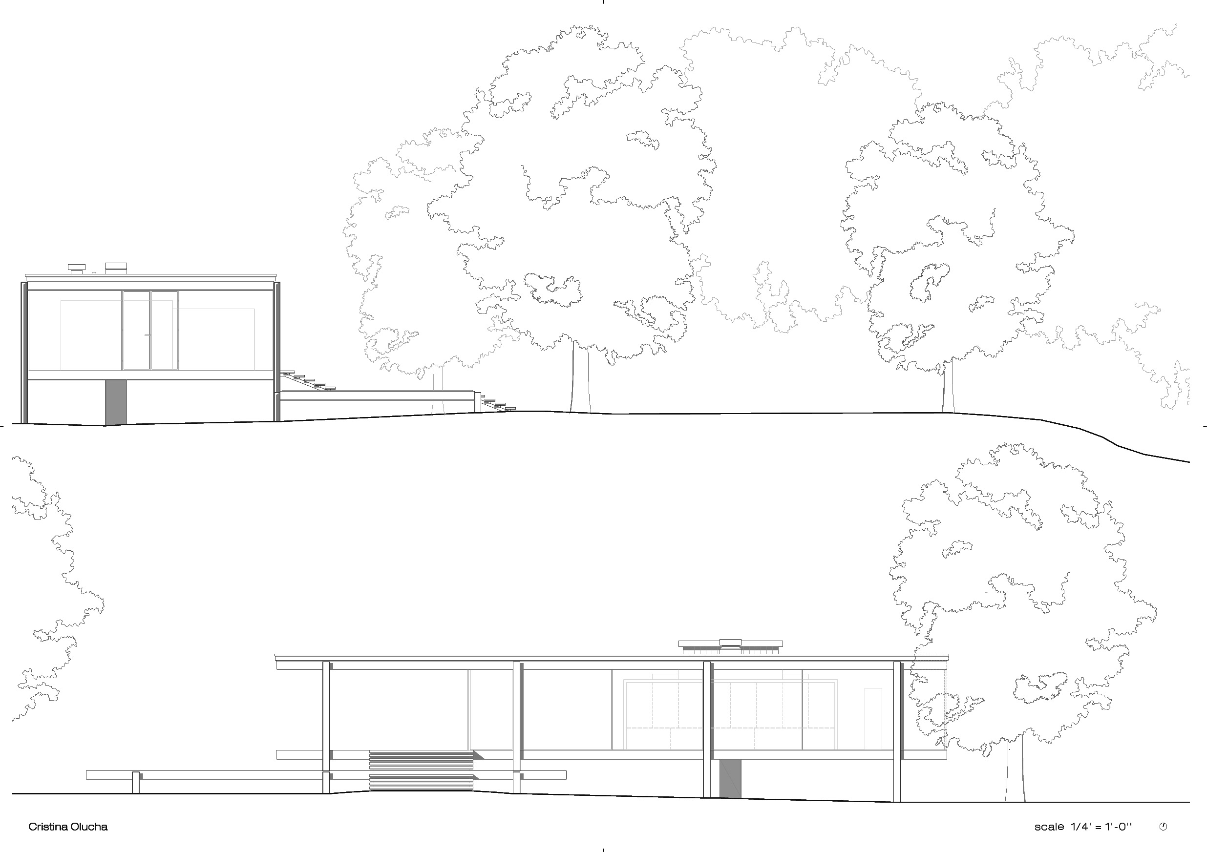 Farnsworth House By Mies Van Der Rohe Cristina Olucha