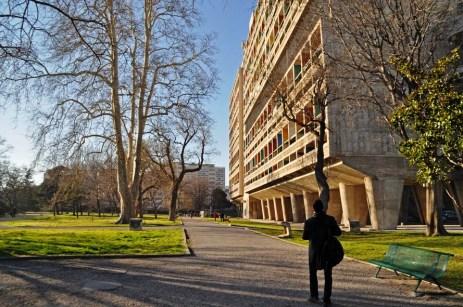 Unite Habitation Marseille, Le Corbusier, human scale, modern architecture