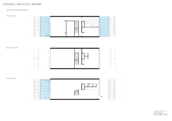 tri-level Apartment