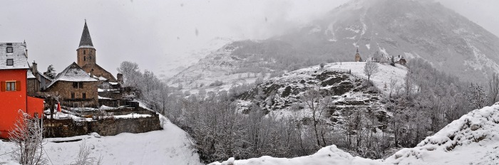 Valley until Unha et Salardú