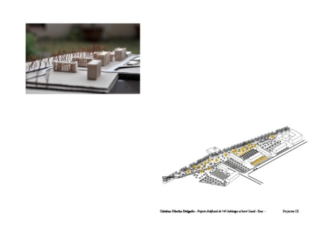 cristina olucha, project, Reus, drawings, plans, planos, arquitectura,