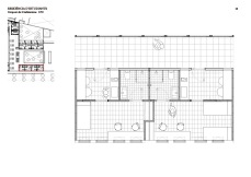 Students residence: 2 rooms detail