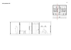 Students residence: apartment section