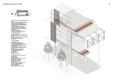detalle constructivo axonometria, bonito, good detail, pavilion, cristina olucha